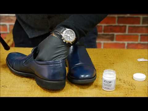 Как покрасить кожаные ботинки