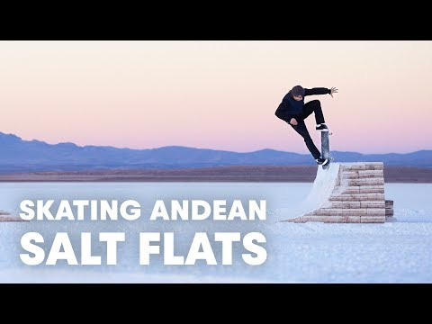 They Built A Skatepark Out Of Salt | Jaakko Ojanen's White Desert