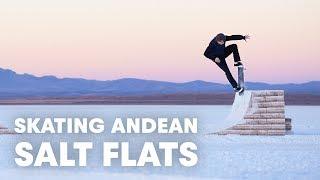 They Built A Skatepark Out Of Salt | Jaakko Ojanen's White Desert