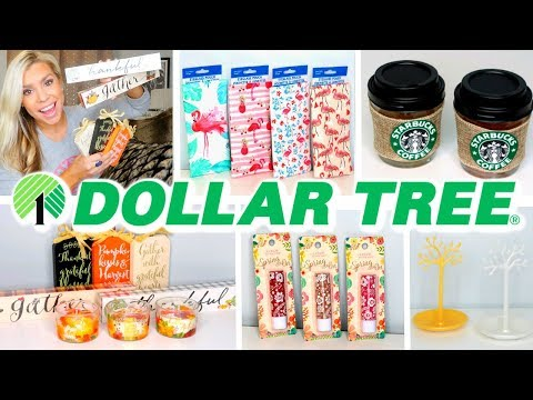 DOLLAR TREE HAUL | JUNE 2019 | NEW DOLLAR STORE FINDS & FALL ITEMS