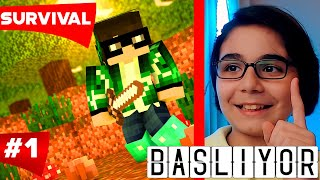 Minecraft Türkçe Survival - S3 Bölüm 1