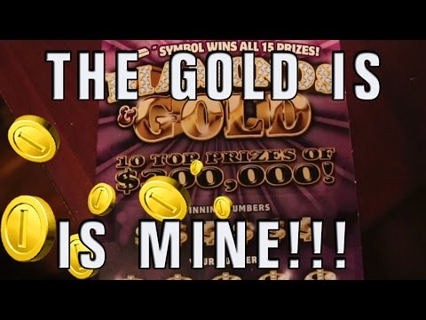PA Lottery Diamonds and Gold Ticket   This just MIGHT be CRAZY