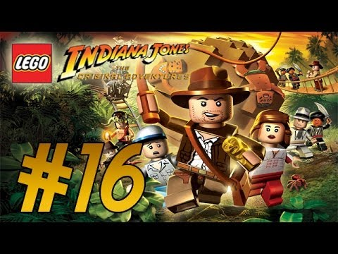 LEGO: Indiana Jones (Original Adventures) Trouble in the Sky - Part 16 Walkthrough
