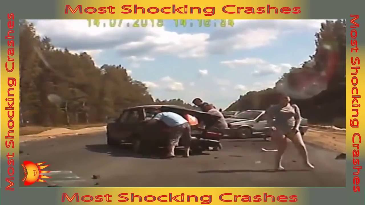 Download MOST horrific car crashes ever caught on camera