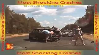 MOST horrific car crashes ever caught on camera