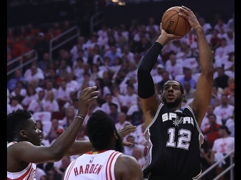 LaMarcus Aldridge Shows up Big in Game 6 with 26 Points in Houston | May 5, 2017