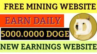 Doge miner 2020|| mining tech ...