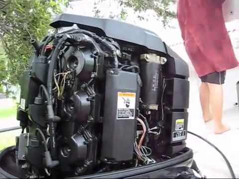2004 Mercury 115 4 Stroke Compression Test Compression