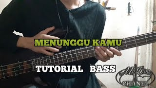 Download lagu Tutorial Bass || Menunggu Kamu - Reggae Ska Version (belajar ngebass)
