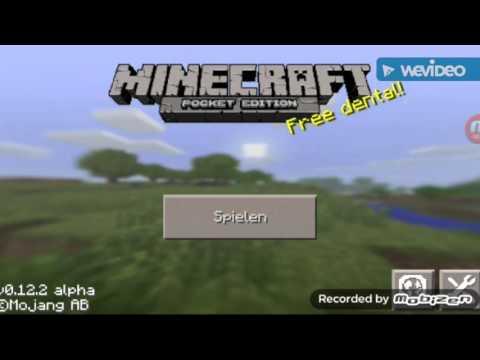 Minecraft PE 0.12.2-0.12.3 mit musik