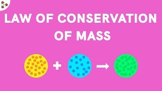 Law of Conservation of Mass - CBSE 9