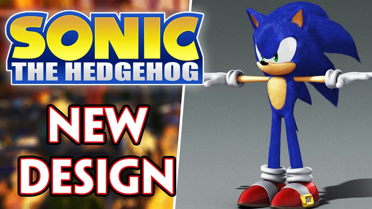 sonic the hedgehog 2019 design