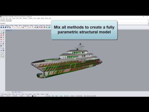 ExpressMarine - parametric marine structure modeling plug-in for Rhinoceros3D