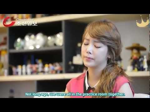 [Eng Subs] 120812 - Soyeon Interview on Hwayoung + her drama.avi