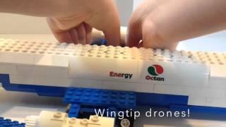 Top Secret Lego Spy Plane