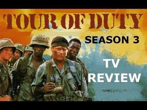 TOUR OF DUTY Season / Series 3 TV Review ( 1989 - 1990 )