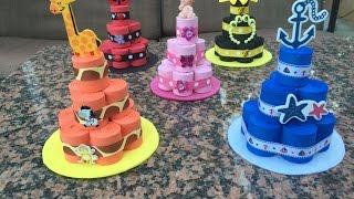 Baby Shower Foam Diaper Cake