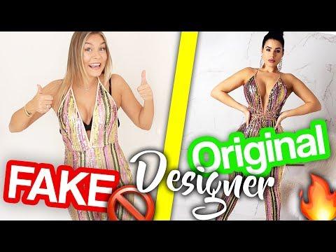 Ich kaufe UND teste FAKE DESIGNER Kleidung 🚫🤷🏼♀️ | Dagi Bee