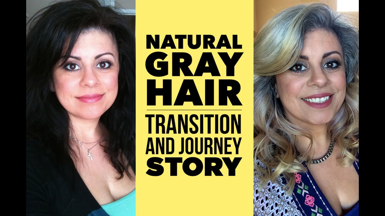 Natural Gray Hair | My Journey and Transition - YouTube