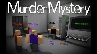 Murderer Chase Scene,More like a Horror Film~Roblox Murder Mystery 2