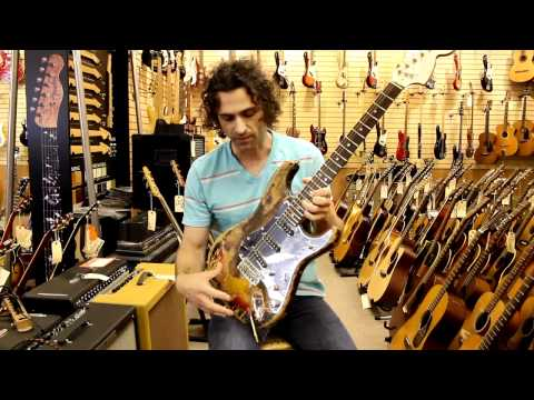 Jimi Hendrix Stratocaster brought in by Dweezil Zappa