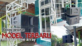 MODEL TERBARU 2019!!! MINIATUR LINE ARRAY REVIEW PESANAN ( kediri )