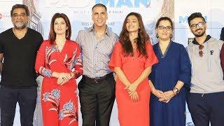 UNCUT : Song Launch Of Padman | Akshay Kumar, Twinkle Khanna, Radhika Apte, R Balki