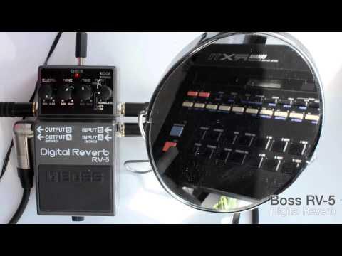 Boss RV-5 Digital Reverb (with Yamaha RX11)