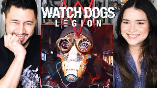 WATCH DOGS - LEGION | Cinematic Trailer & Official Gameplay Overview | Reaction