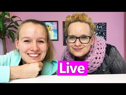 DIY Inspiration live   Frühlingsdeko für unser Studio und eure Zimmer basteln   Eva & Kathi