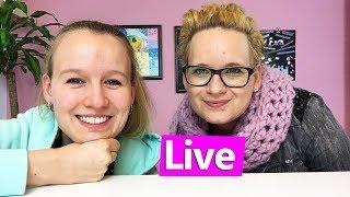 DIY Inspiration live | Frühlingsdeko für unser Studio und eure Zimmer basteln | Eva & Kathi