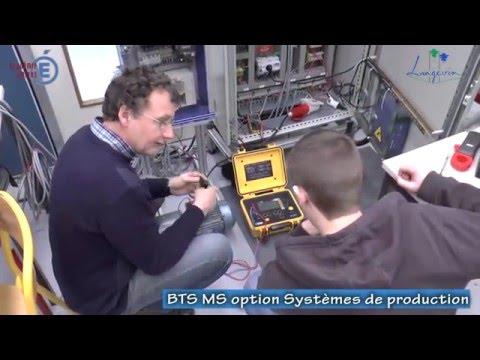 Présentation du BTS Maintenance des Systèmes