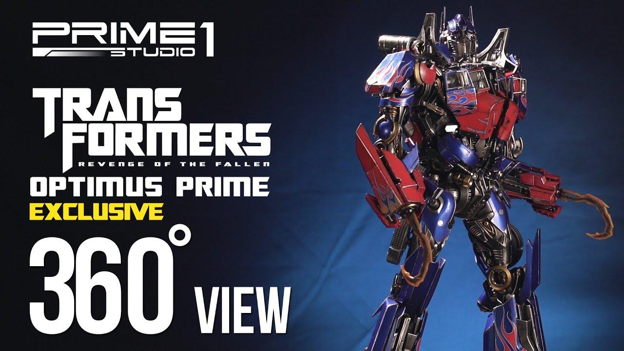 Prime1Studio ROTF Optimus Prime EX Versions 360 Previews