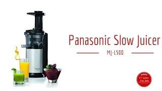 Panasonic Slow Juicer MJ-L500 Review
