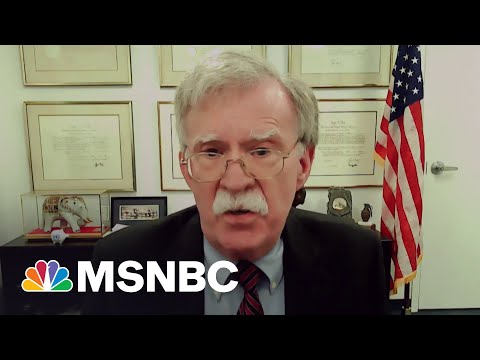 Bolton: Troop Withdrawal From Afghanistan 'Mistake Across The Board'