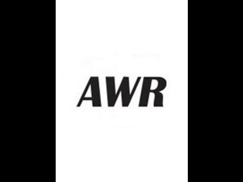 AWR License Crack 2017