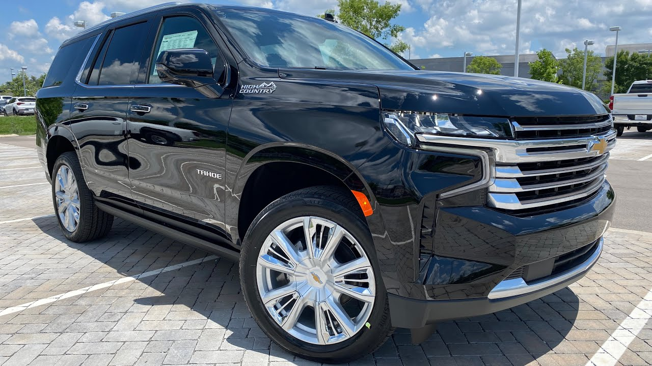 2021 Chevrolet Tahoe High Country 6.2 Test Drive & Review