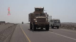 بالفيديو| طلائع قوات ألوية العمالقة تصل مشارف الحديدة إستعداداً لاقتحامها