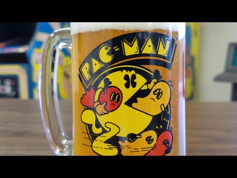 Pac-Man Glass Review & Ms. Pac-Man Returns To Classic Game Room