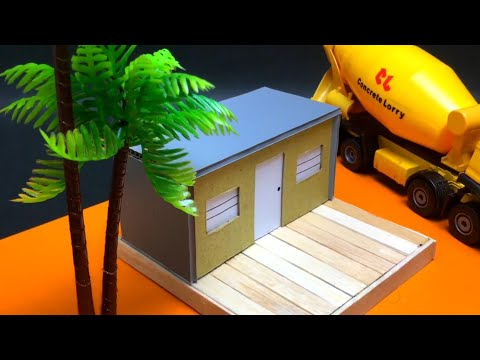 Timelapse How To Make  Mini Container Home Office | DIY