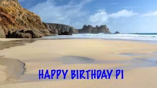 Pi   Beaches Playas - Happy Birthday