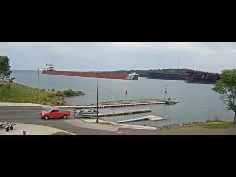 Edgar B Speer at Two Harbors, MN  13 AUG 2017  See Description