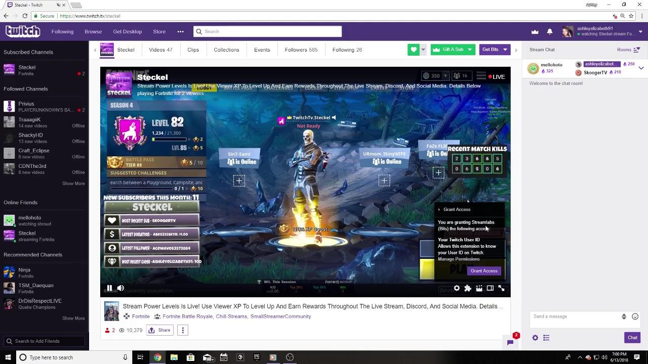 StreamLabs Viewer Loyalty Points Tutorial