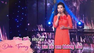 Karaoke Tiền Thắng Tình Thua - Diễm Trang