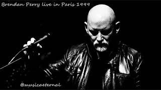 Brendan Perry live Paris Elysée Montmartre 1999