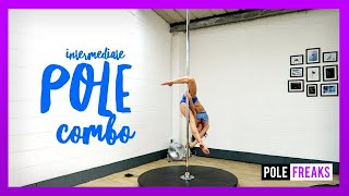 Intermediate Pole Dance Combo