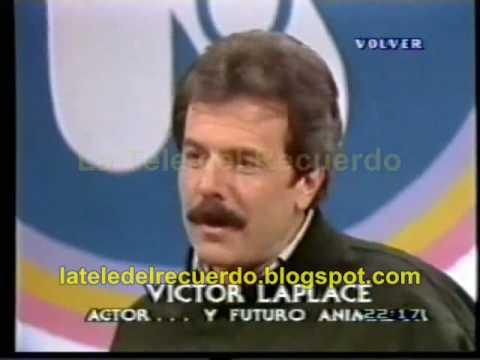 Victor Laplace en La Noticia Rebelde - 1988
