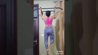 Hot Girls Doing Gym On Tiktok