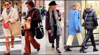 Как одеваются итальянки и итальянцы Fashion Walking Style in Italy Милан стрит стайл Street Style