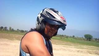 bike race in nepal funny bike rider lx
